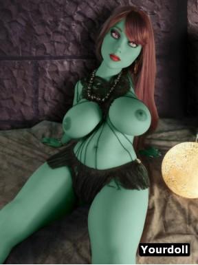 Alien Real Doll YLDoll en TPE Regina - 118cm