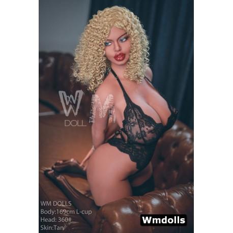 WM Sex Doll L-CUP aux lèvres pulpeuses - Destiny - 169cm