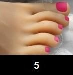 5 - Rose foncé
